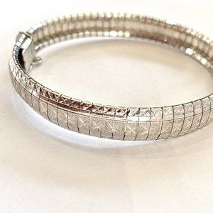 925 Sterling Silver Bracelet Made in Italy